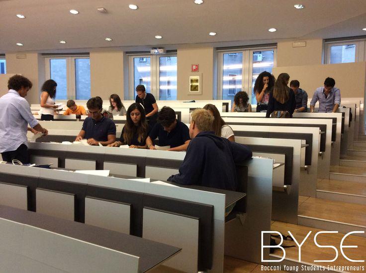 BYSE - Business Competition, l'evento dedicato alle matricole durante la Welcome Week 2014 dell'Università Bocconi