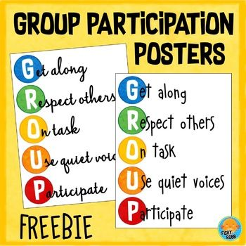 This poster will remind students of the expectations for group work. There are two versions that will help get your room ready for back to school. There is one in cursive & in print. Both are formatted for ledger size paper, but will also print on standard letter size. It's great for 1st, 2nd, 3rd, 4th or 5th grade classrooms. Hang on your wall or bulletin board where your students can easily see it. It works well with any decor theme. (first, second, third, fourth, fifth graders…
