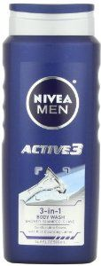 Nivea For Men Active3 Body Wash for Body, Hair & Shave, 16.9-Ounce - See more at: http://supremehealthydiets.com/category/beauty/bath-body/cleansers/page/2/#sthash.6rbkUGMo.dpuf