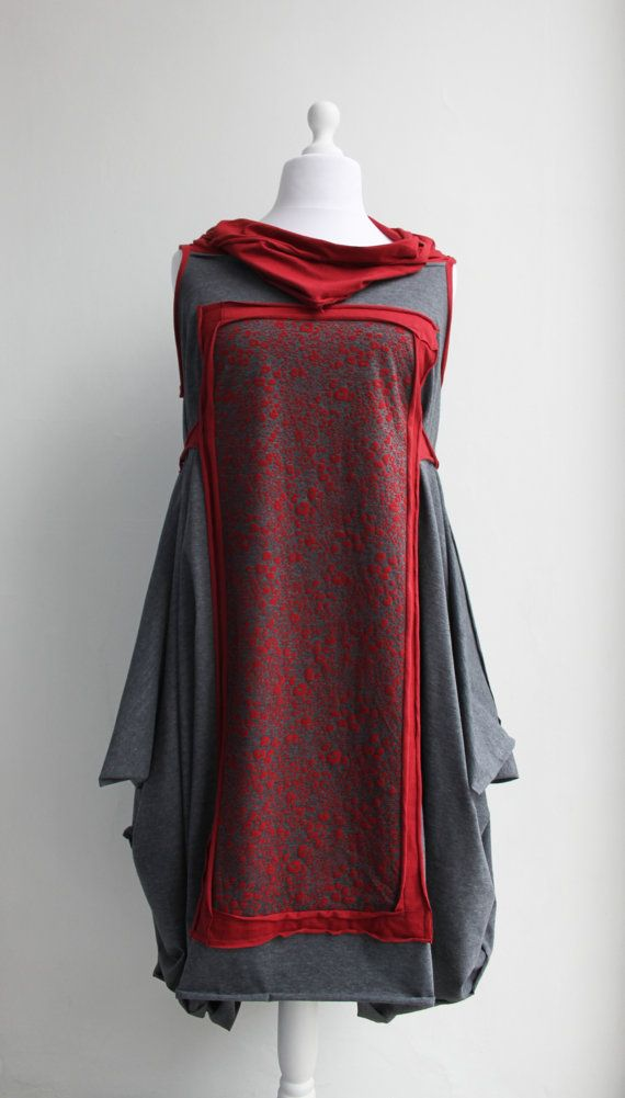 MINERVETTA Dress Artistic Quirky Sculptural Avant by Converte