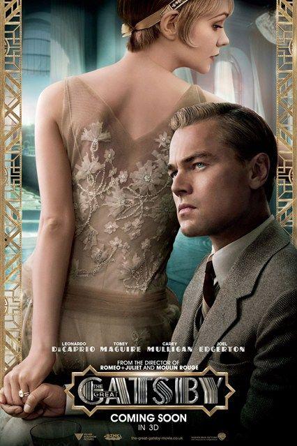 Leonardo di caprio & Carry Mulligan. New Great Gatsby film posters released