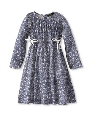 50% OFF Gil & Jas Girl's Printed Dress (Indigo)