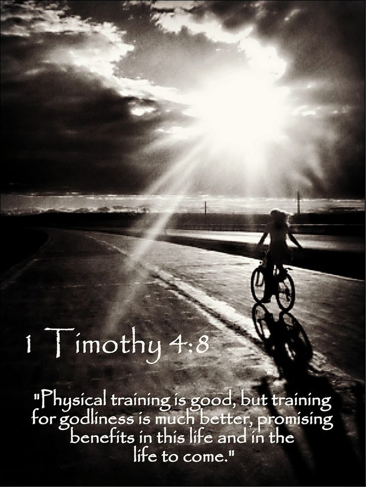 https://flic.kr/p/iQVUtT | 1 Timothy 4:8 nlt | 01-02-14 Today's Bible Scripture.