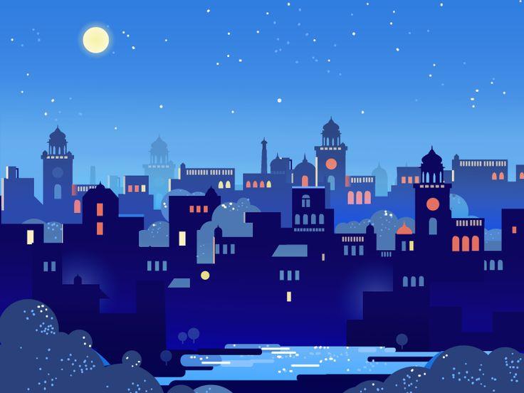 Starry Nights by ranganath krishnamani
