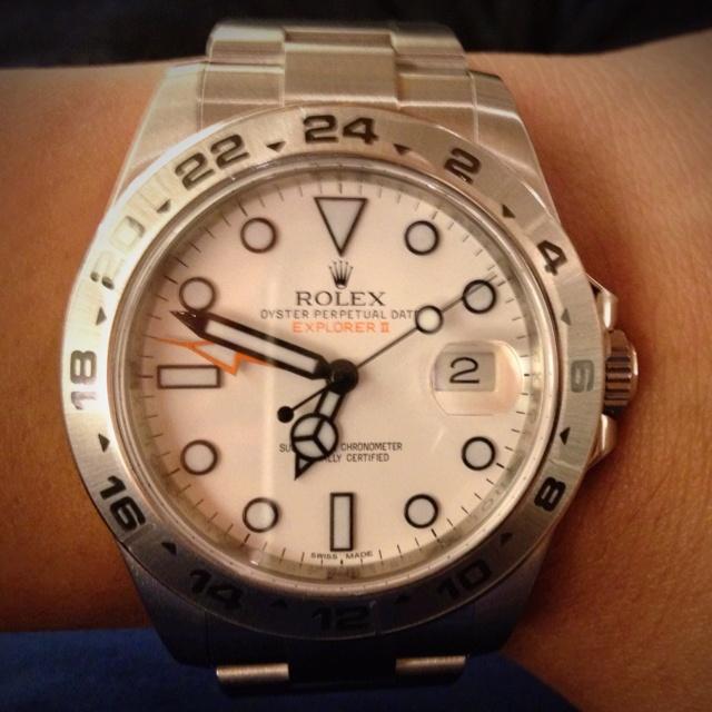 Rolex Explorer II  Oyster Perpetual Date  2012