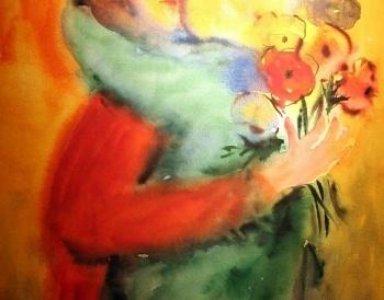 Jane Evans - artist. Love her paintings.