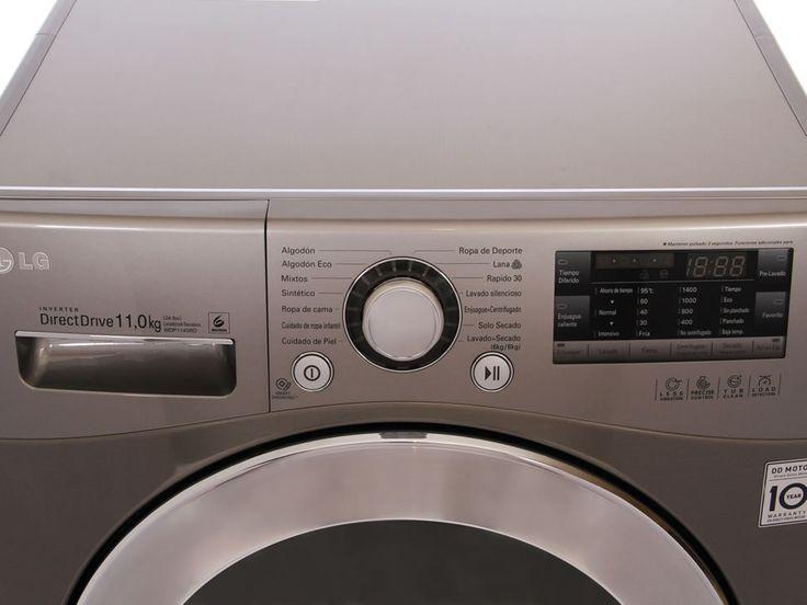 Lavasecadora 11 Kg LG Silver WDP1145RD-Liverpool es parte de MI vida