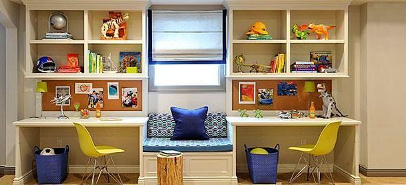 Το παιδικό γραφείο πρέπει να εμπνέει το παιδί να διαβάζει με όρεξη! Δείτε 12 ιδέες που θα κάνουν τη γωνιά του γραφείου πολύ πιο ευχάριστη.
