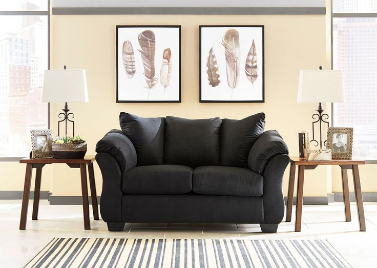 Elegant The Darcy Black Loveseat Sold At United Furniture Serving Stockton, CA And  Surrounding Areas.