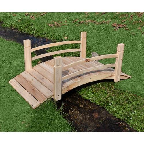 Details about shine company inc cedar garden bridge for Idea garden inc