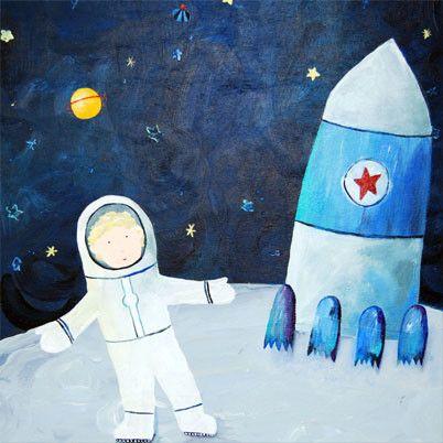 astronaut art project - photo #35