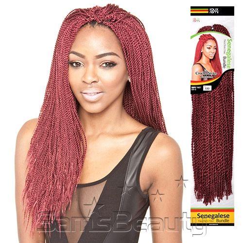Isis Synthetic Hair Braids Senegalese Bundle Rope Twist