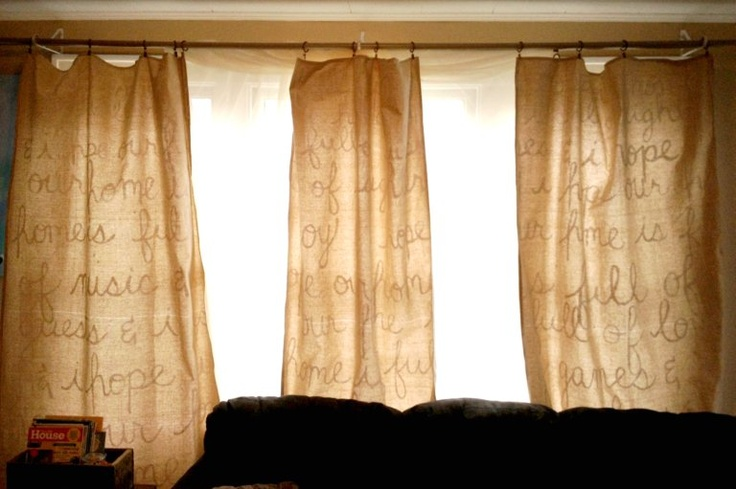 Brand New Quot We Quot Diy Dropcloth Curtains Use A Drop Cloth