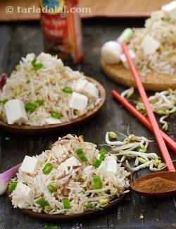 The delicate blend of flavours and textures in this dish may not appeal to all, but it is a must for those who like to experiment beyond the traditional Chinese fried rice.