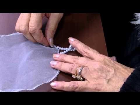 Bordados a mão por perlacristinarubi | Cantinho do Video