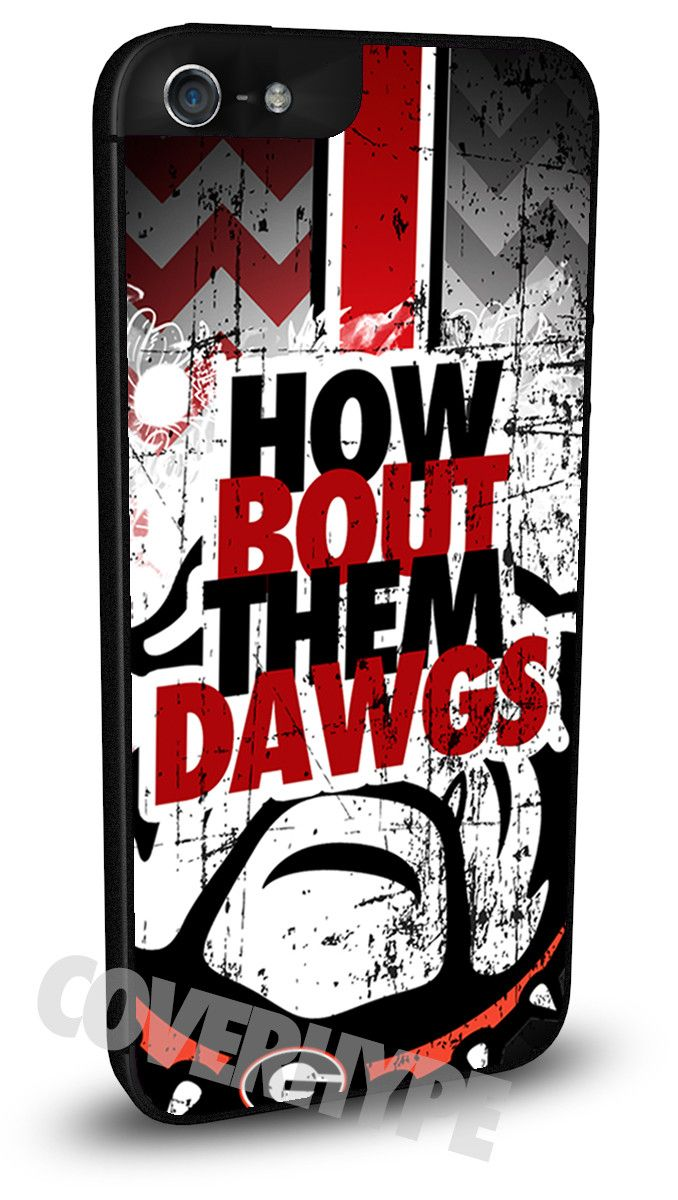 Georgia Bulldogs Cell Phone Hard Case for iPhone 6, iPhone 6 Plus, iPhone 5/5s, iPhone 4/4s or iPhone 5c