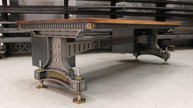 Groovy The Brunel Desk Decoracion Cubiculos Industrial Design Home Remodeling Inspirations Genioncuboardxyz