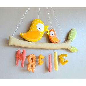 """Mobile prénom zozios """"Maelle"""" J'<3"""