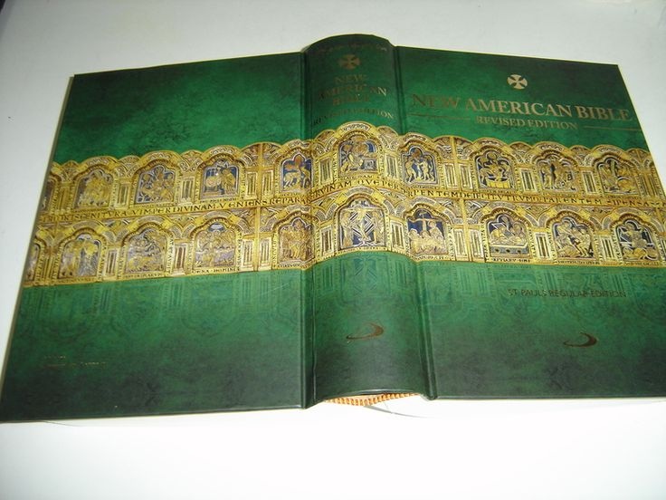 New Arrival, Beautiful BIBLE!! New American Bible Catholic Revised Edition  Beautiful Special Limited Edition Cover  On the Cover: Altar Piece from Klasterneuburg, Germany  Thumb Indexed Beautiful Bible