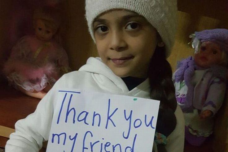 Buku Harry Potter untuk Bana di Aleppo