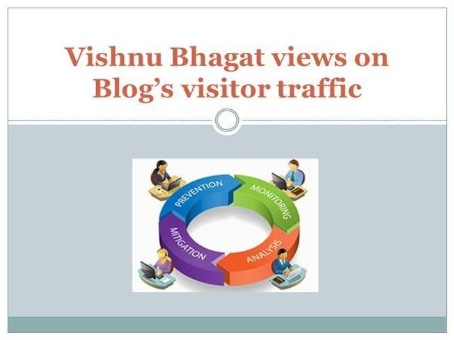 Vishnu Bhagat views on Blog's visitor traffic by ps316168 via authorSTREAM