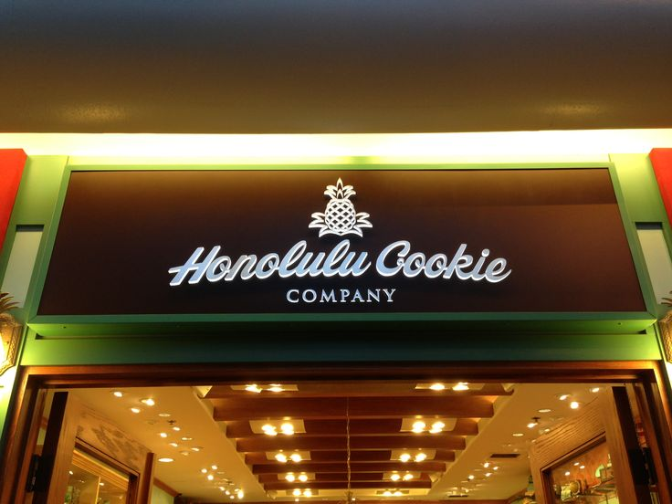Honolulu Cookie Company!  Delicious.