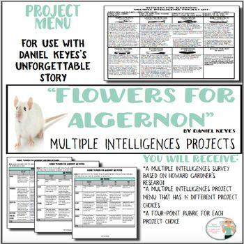 a character analysis of daniel keyes novel flowers for algernon Need help on characters in daniel keyes's flowers for algernon check out our detailed character descriptions from the creators of sparknotes.