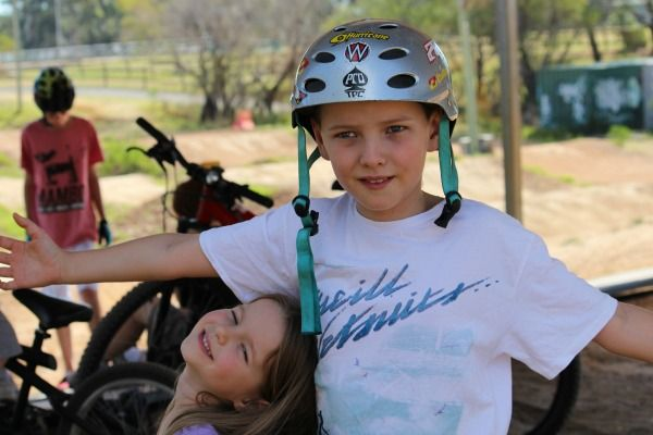 The BMX Bike Track at Terrey Hills – Best Sydney Bike Tracks For Kids. See more on the blog http://www.seanasmith.com/bmx-bike-track-terrey-hills-sydney/