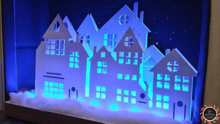 Φτιάξε ένα παραμυθένιο Χριστουγεννιάτικο Χωριό με φωτισμό!