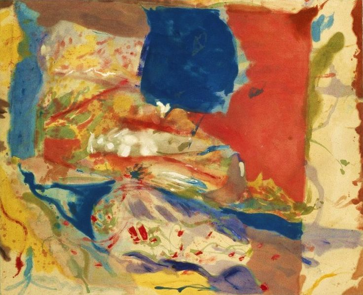 55 best images about Helen Frankenthaler on Pinterest | Helen ...