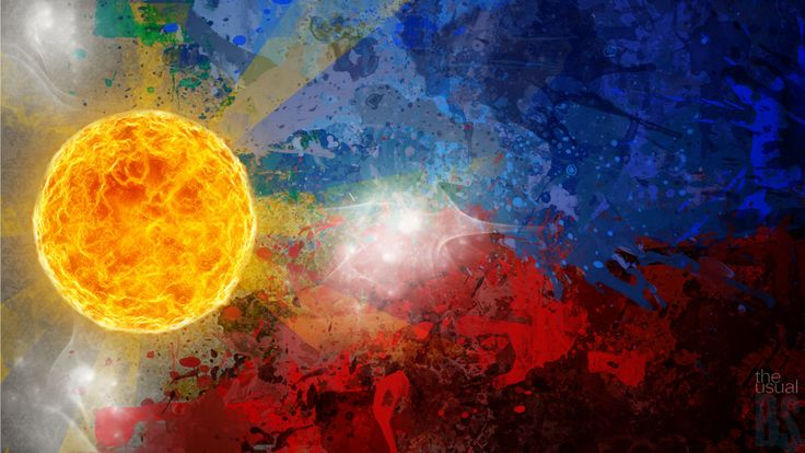 philippines art | the Philippine Flag by ~wroiee on deviantART