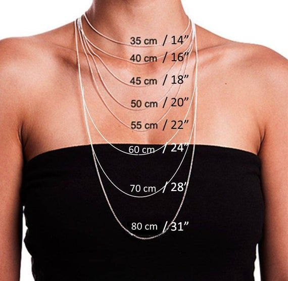 This Is Not Selling Items We Want To Let You Know Length Of Necklace I Hope That It Helps To Choose Necklace Lengths Necklace Size Charts Necklace Sizes