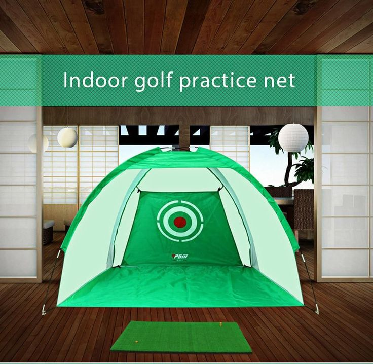 Indoor #golf Practice Net