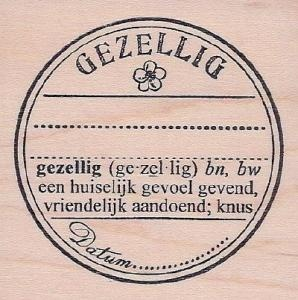 Gezellig Seal. I really want this!