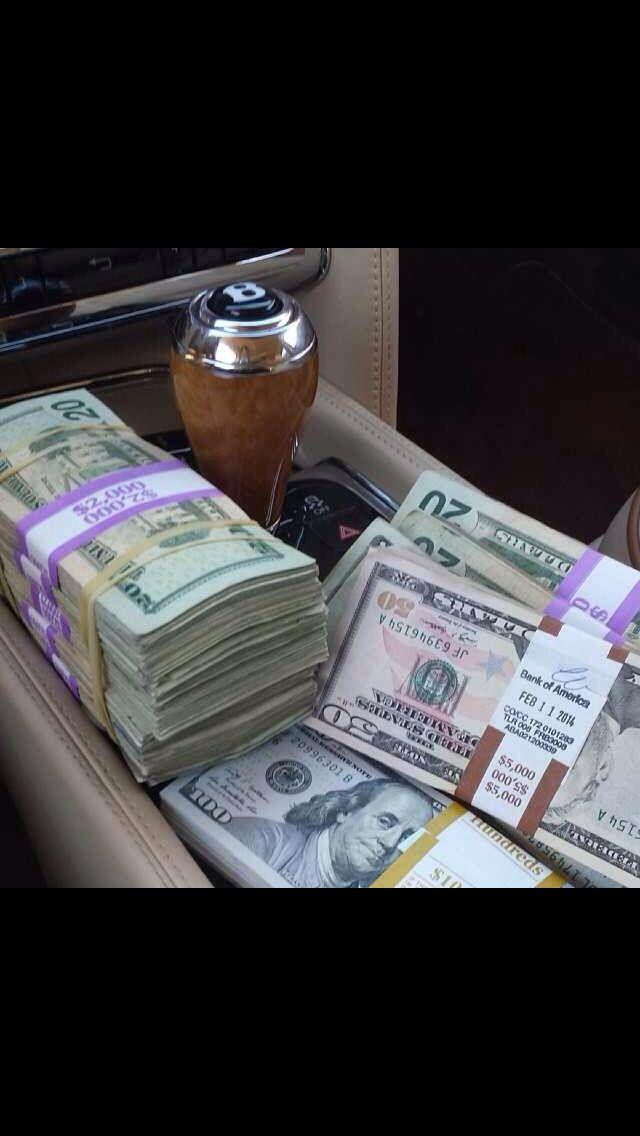 It's magic the way money flows to me