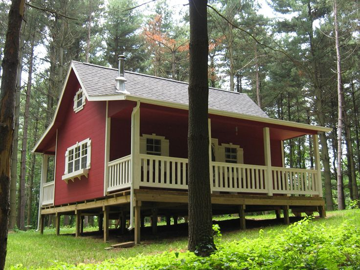 1000 ideas about small log cabin kits on pinterest for Log barn homes