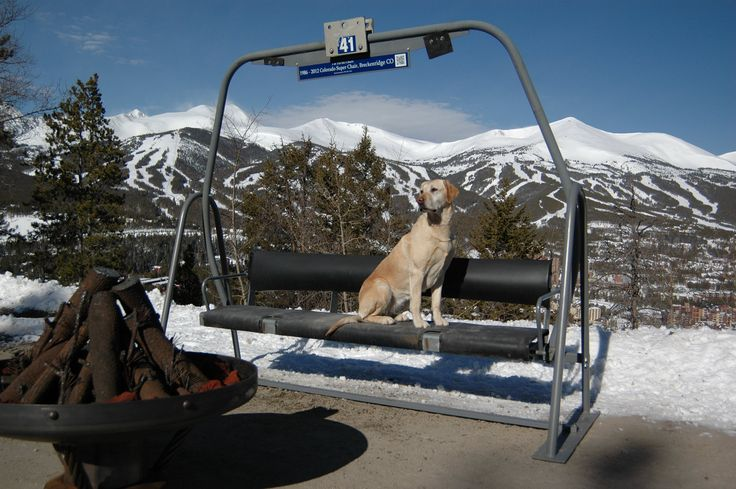 we sell ski lift chair from the old falcon chairlift breckenridge ski