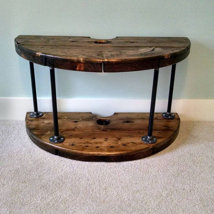 Best 25 cable reel table ideas on pinterest cable reel for Cable reel table