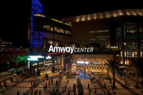 Amway Center, Orlando. Check out the many events and concerts that take place throughout the year