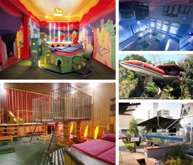 Weird hotel room fantasy fantasy interior design for Weird interior design