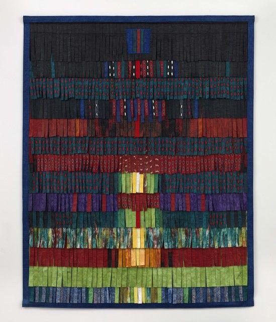 Abdoulaye Konaté, 'Composition Vert Émeraude,' 2015, Blain | Southern