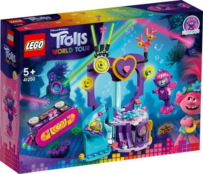 Lego Trolls Impreza Techno Na Rafie 41250 Nel 2020 Set Lego