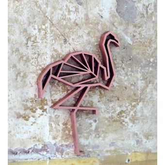 Flamingo - Holz Motiv Deko