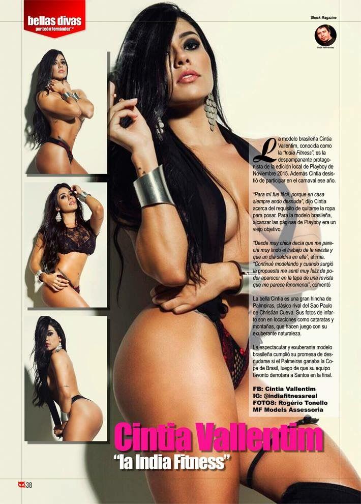 """Cintia Vallentim este mes en """"Bellas Divas"""" solo en Shock Magazine"""