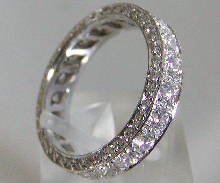 Diamond  Wedding Bands For Women Eternity Bands