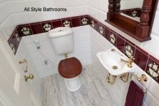 ASB Feature Powder Room Renovation
