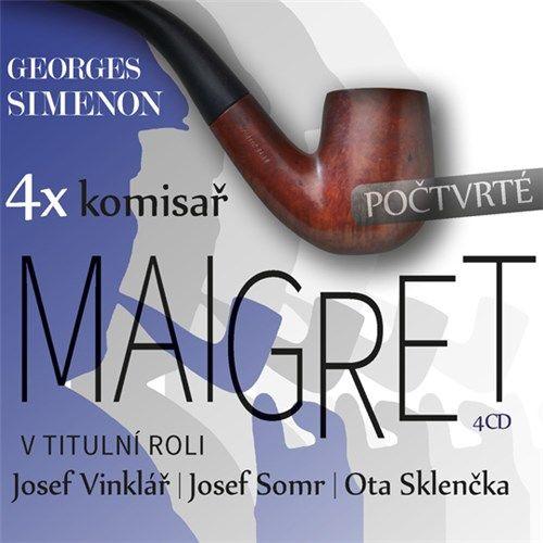 Legendární pařížský komisař Maigret se vrací! Tentokrát v jiném obsazení, v podání Josefa Vinkláře, Josefa Somra a Oty Sklenčky.
