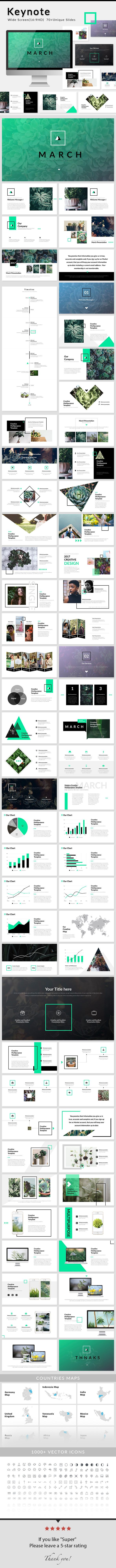 March - Keynote Presentation Template