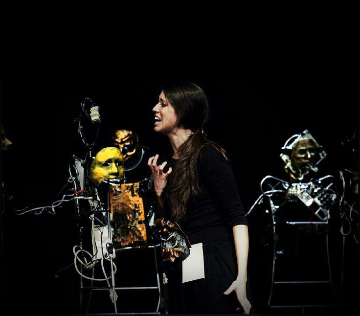 Representación DUKKHA de Beatriz Cano Olmedo por la Compañía La Charanga Teatro.  Teatro Bellas Artes de Madrid  25 de junio de 2013