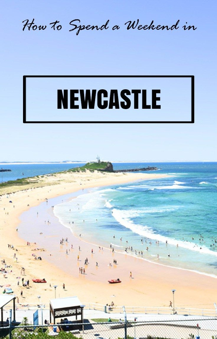 Nobbies Beach, Newcastle, NSW. How to Spend a weekend in Newcastle, NSW